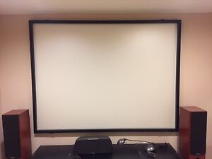 "100"" Wall Mount Silver Screen"
