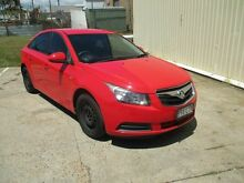 2009 Holden Cruze JG CD Red 5 Speed Manual Sedan Kippa-ring Redcliffe Area Preview