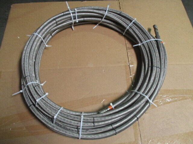 CTI Cryogenics 8043085 Set of two 80ft Stainless Steel Hose, Cryo Pump, 451443