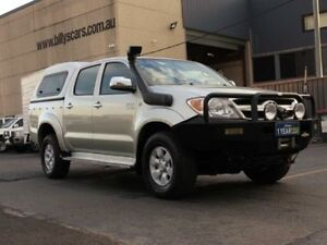 2008 Toyota Hilux GGN25R 07 Upgrade SR5 (4x4) Silver 5 Speed Automatic Dual Cab Pick-up Condell Park Bankstown Area Preview