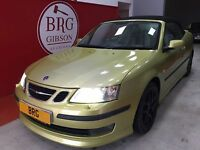 Saab 9-3 210HP Petrol Manual (yellow) 2005