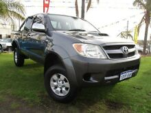 2008 Toyota Hilux KUN26R MY09 SR5 Graphite 5 Speed Manual Utility Wangara Wanneroo Area Preview