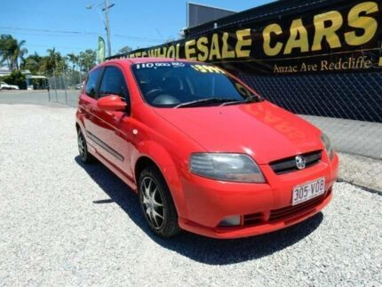 2006 Holden Barina TK Red 5 Speed Manual Hatchback Kippa-ring Redcliffe Area Preview