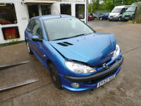 PEUGEOT 206 - EY53YUV - DIRECT FROM INS CO