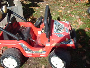 Fisher Price Battery Powered Jeep