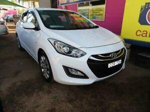 2013 Hyundai i30 GD Active White 6 Speed Sports Automatic Hatchback Minchinbury Blacktown Area Preview