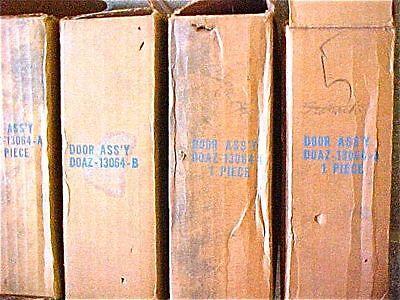 1970 Ford D0AZ  13604  A,A,B,C.Headlamp door assay   A,A,B,C.  total 4 units
