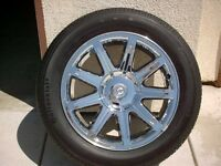 Looking for rims/tires for 2006 chrysler 300