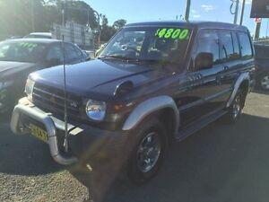 1999 Mitsubishi Pajero NL GLX Escape (4x4) Blue 4 Speed Automatic 4x4 Wagon Jewells Lake Macquarie Area Preview