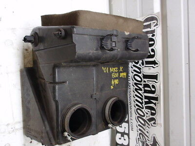 2001 Ski Doo MXZ X 800 Snowmobile Engine Airbox 700 MXZX
