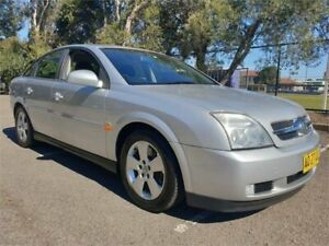 2004 Holden Vectra ZC MY04 CDX Silver 5 Speed Automatic Hatchback Granville Parramatta Area Preview