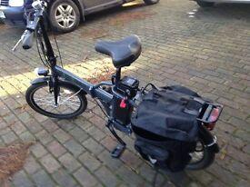 Folding Electric Bike - Byocycles