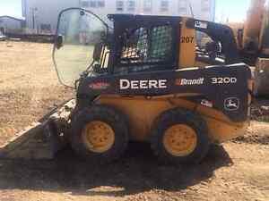 2012 JOHN DEERE 320D SKID STEER   1500 HRS