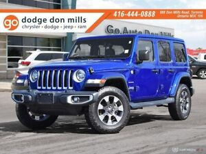 2018 Jeep Wrangler Unlimited Sahara - Leather - Cold weather gro