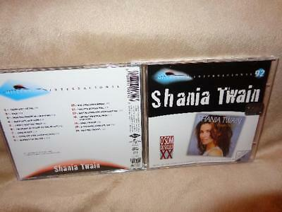 Shania Twain  1999 16 Track Hit Come On Over Compilation Brazil Import Cd
