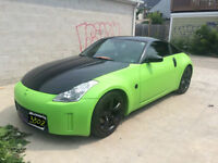 2006 Nissan 350Z Coupe - A Free Color Change ( Plasti Dip)