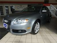 2008 Audi A4 S-LINE 2.0 Turbo ,QUATTRO, CERTIFY,FULLY LOADED