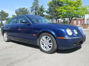 2005 Jaguar S-Type LEATHER SUNROOF HEATED SEATS!!
