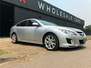 2008 Mazda 6 GH1051 Luxury Silver 5 Speed Sports Automatic Hatchback