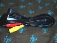 Brand New3Rca Adopter cable with 3.5 in Jack stereo 6ft Long
