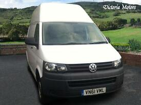 2011 VOLKSWAGEN TRANSPORTER 2.0 TDI 84PS Van, High Roof 01225 707489