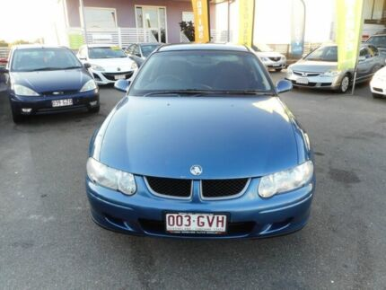 2002 Holden Commodore VX II Equipe Blue 4 Speed Automatic Sedan Coorparoo Brisbane South East Preview