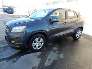 2014 CHEVROLET TRAX ONE OWNER TRADE IN!!