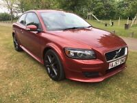 2007 Volvo C30 D5 R-Design Sport Turbo diesel Automatic low mileage 79,000 Full service history