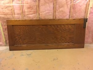 """Antique 32"""" Swing door with frame and all hardware"""