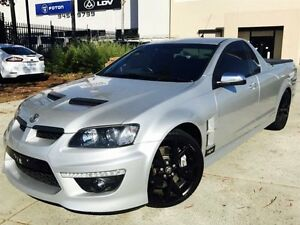 2010 Holden Special Vehicles Maloo E2 Series GXP Silver 6 Speed Manual Utility Beckenham Gosnells Area Preview