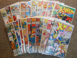 197 comic books in great condition, many not opened.