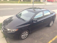 2012 Kia Forte Sedan less then 50km!   OBO MUST GO!