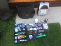 Carp Job Lot Fishing Items - No Offers Only 180 - Comes with Tackle and Tripod