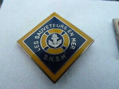 PIN'S SAUVETEURS EN MER / S.N.S.M / RARE