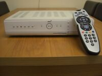 SKY+ BOX DV3 AMSTRAD DRX280 160GB HARD DRIVE +REV8 MODEL REMOTE CONTROL