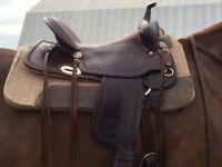 Billy Cook 16 inch full quarter horse saddle for sale
