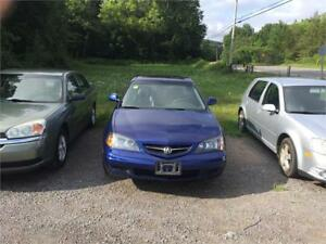 03 ACURA CL S CERT TAXS WARRANTY ALL INCL IN THIS  PRICE 5876.00