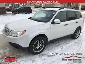 2011 Subaru Forester X AWD automatic SUV 185,000 k NOW $10500