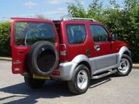 SUZUKI JIMNY 1.3 JLX MODE 3d (red) 2004