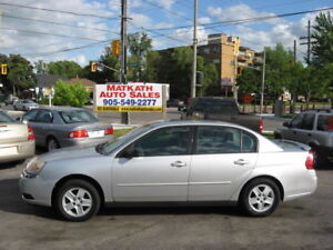 **2004 Chevrolet Malibu LS V6**  Certified & E-tested