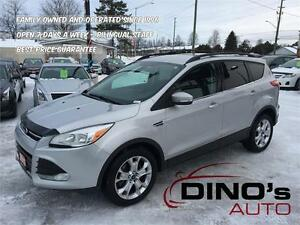 2013 Ford Escape SEL | $66 Weekly *OAC $0 Down / Nav / Leather