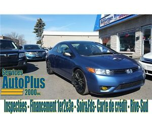 2008 Honda Civic Cpe DX-A BLUETOOTH - NAVI - A/C - A/C - MAG 17""