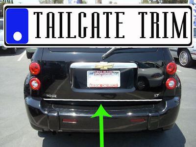 Chevy HHR 2006 2007 2008 2009 2010 2011 Chrome Tailgate Trunk Trim Molding