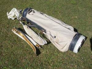 White Golf Bag With Spare Strap $10 Albion Brisbane North East Preview
