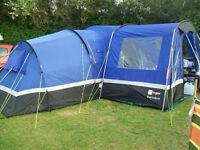 Zenobia 6 tent + lots of extras--- see item description