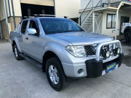 2007 Nissan Navara D40 ST-X Silver 5 Speed Automatic Utility Greystanes Parramatta Area Preview