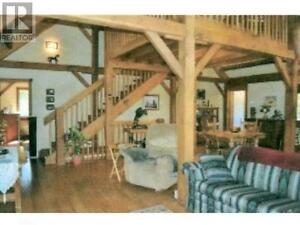 Beautiful Oak Timber Frame House For Sale On 2 Acres