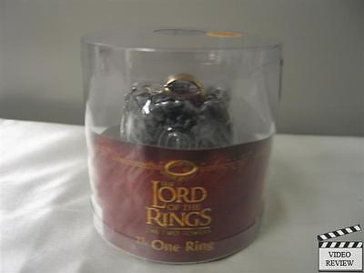 One Ring replica w/ light-up box; LOTR: Two Towers version; NEW](Light Up Ring Box)