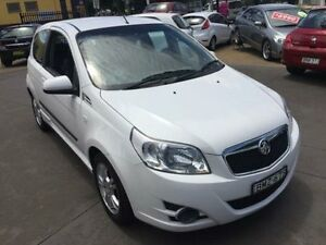 2010 Holden Barina TK MY10 White 5 Speed Manual Hatchback Islington Newcastle Area Preview