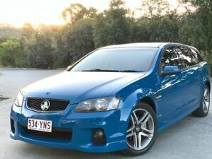 2012 Holden Commodore 2 SV6 Blue 6 Speed Auto Active Sequential Wagon Burleigh Heads Gold Coast South Preview